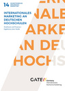 Internationales Marketing an deutschen Hochschulen - Band 14 (2017)